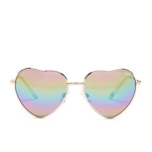 New heart shape sunglasses